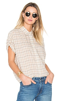 The Roll Sleeve Big Shirt en Old Havana Plaid