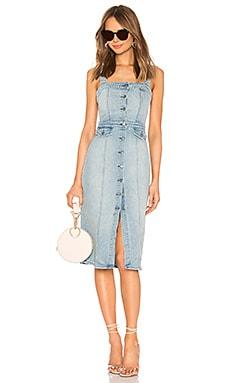 Petra Slim Midi Dress GRLFRND $298