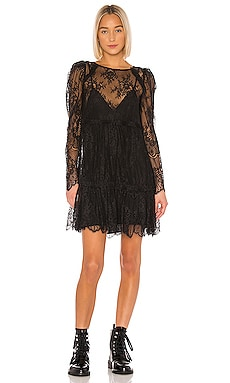 Reese Lace Mini Dress GRLFRND $120