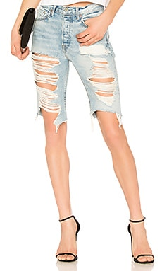 Beverly High Rise Long Biker Short GRLFRND $65