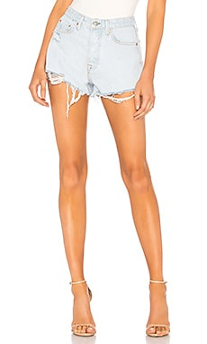 Cindy High Rise-Cut Off Short GRLFRND $158