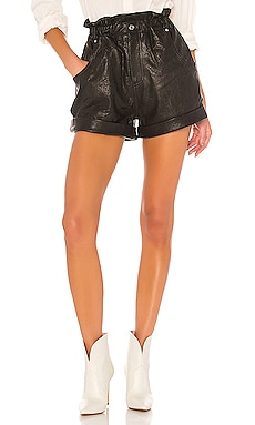 Shea Leather Shorts GRLFRND $338