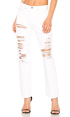 Helena High-Rise Straight Jean GRLFRND $120