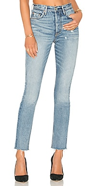 x REVOLVE Karolina High-Rise Skinny Jean en Without Love