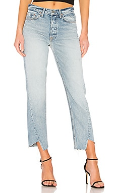 Carmen High-Rise Straight Leg Jean. - size 23 (also in 24,25,26,27,28,29,30,32) GRLFRND