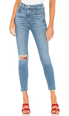 Kendall Super Stretch High-Rise Skinny Jean GRLFRND $228 BEST SELLER