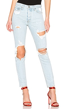 Karolina High-Rise Skinny Long Jean GRLFRND $162