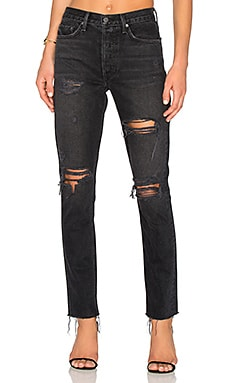 Karolina High-Rise Skinny Jean en Travelin' Band