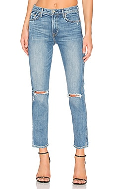 x REVOLVE PETITE Naomi High-Rise Jean in I Will Survive