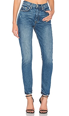 x REVOLVE PETITE Karolina High-Rise Skinny Jean in Close To You