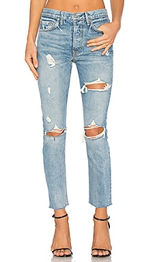 x REVOLVE PETITE Karolina High-Rise Skinny Jean in A Little More Love