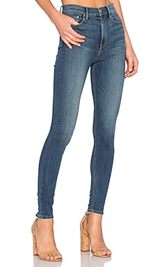 Kendall High-Rise Super Stretch Skinny Jean in You and Me Against the World