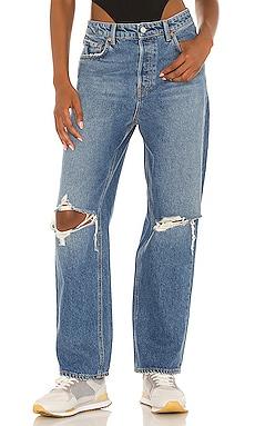 Amanda Mid Rise Straight GRLFRND $225 NEW