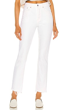 Karolina High Rise Straight Crop GRLFRND $185