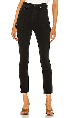 Piper Super High Rise Stretch Slim GRLFRND $195