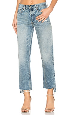 x REVOLVE Helena High-Rise Straight Jean in I Want You Back