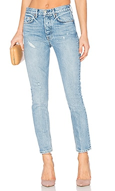 Karolina Customizable High-Rise Skinny Jean en Last Dance