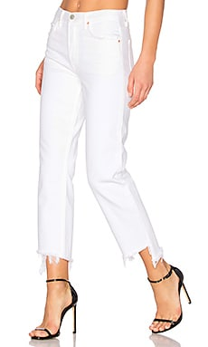 Helena High-Rise Straight Crop Jean in Sweet City Woman