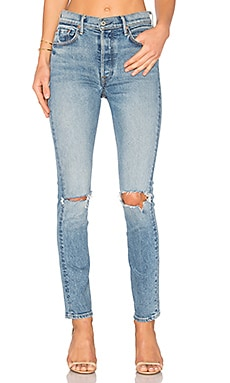 Karolina High-Rise Skinny Jean in What Is Life