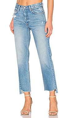 Helena High-Rise Straight Crop