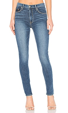 x REVOLVE Kendall Super Stretch High-Rise Skinny Jean in No More Tears