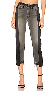 Helena High-Rise Straight Crop Jean in Superstition