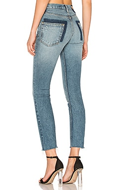 PETITE Karolina High-Rise Skinny Jean en Whole Lotta Love