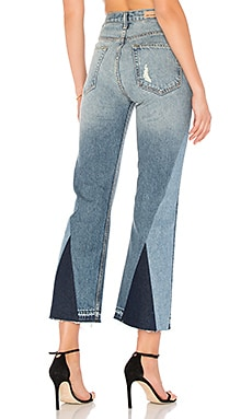 x REVOLVE Linda Pop Crop Jean in Le Freak