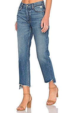 PETITE Helena Straight Leg Jean en Close To You