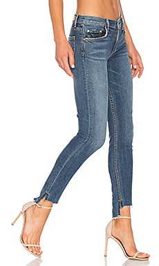 x REVOLVE Candice Mid-Rise Skinny Jean in No More Tears