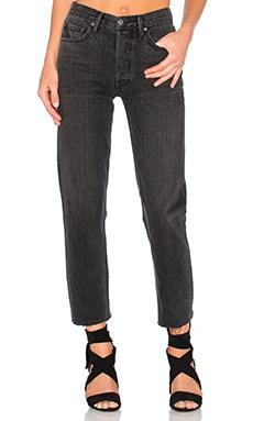 GRLFRND Helena Straight Leg Jean in Hot Stuff