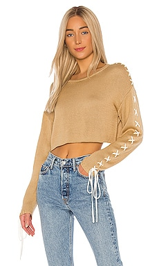 Ronnie Cropped Sweater GRLFRND $123