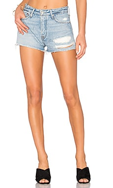 Cindy High-Rise Shorts in Silly Love Songs