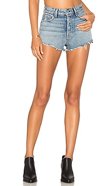 Cindy High-Rise Short GRLFRND $148 BEST SELLER