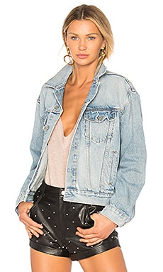 Kim Boyfriend Trucker Jacket GRLFRND $278