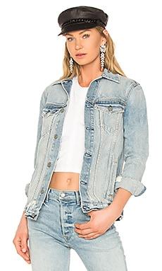 Daria Oversized Denim Jacket GRLFRND $130