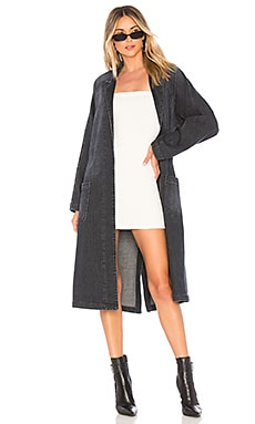 Cybile Raglan Car Coat GRLFRND $168