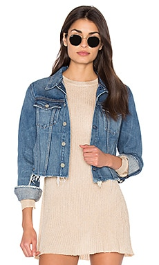 Cara Cropped Denim Jacket