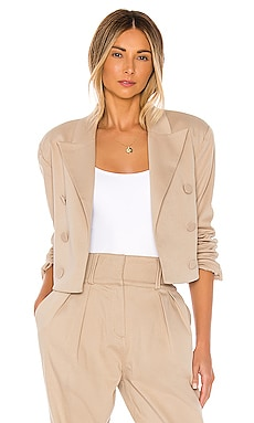 Power Crop Blazer GRLFRND $278 BEST SELLER