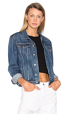 Bianca Denim Trucker Jacket in Oh Girl