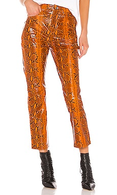 Shiloh Leather Pant GRLFRND $598