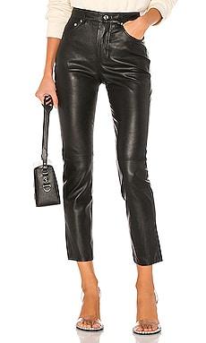 Shiloh Leather Pant GRLFRND $578