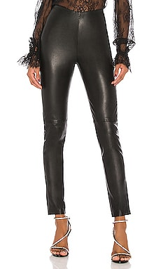 Maci Leather Legging GRLFRND $335