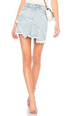 Купить Юбку с рюшами skirt - GRLFRND цвет none