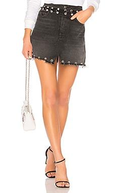 Milla High-Rise A-Frame Skirt GRLFRND $246