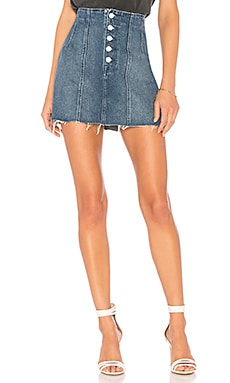 Twiggy High-Rise Mini GRLFRND $125