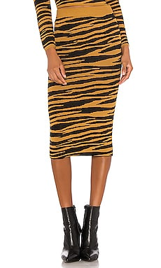 Toni Midi Skirt GRLFRND $34 (FINAL SALE)