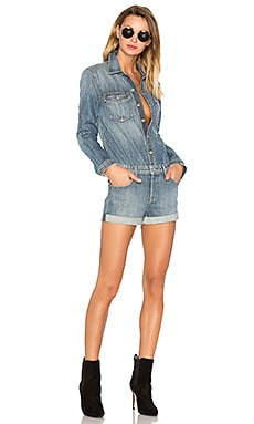 Rosie Long Sleeve Short Romper