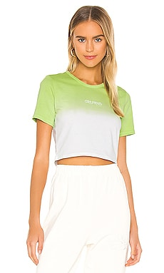 Mini Logo Cropped Tee GRLFRND $50