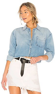Christy Crop Shirt GRLFRND $178